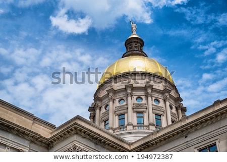 Grúzia · épület · Atlanta · este · építészet · USA - stock fotó © andreykr