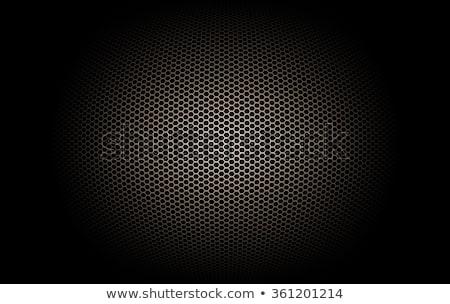 Grey Microphone Background Stock photo © Bigalbaloo
