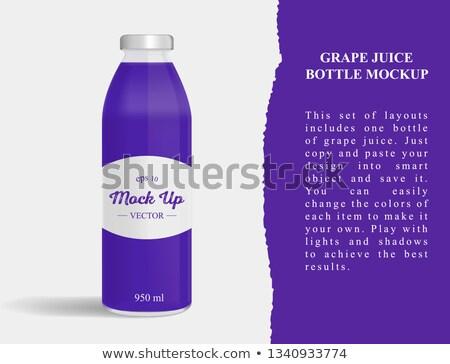 A purple generic bottle Stock photo © bluering