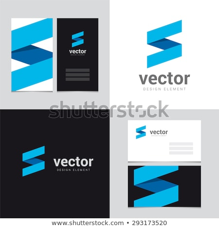 letter s business card 2 stock photo © vadimsoloviev