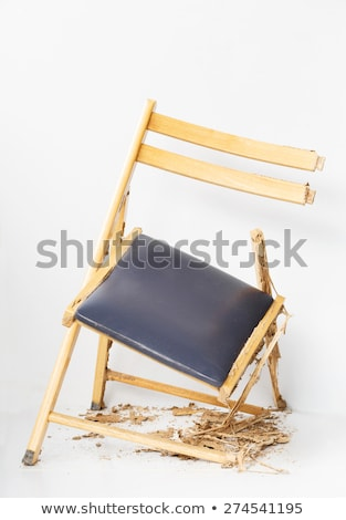 Damaged chair eaten by termite Stock photo © smuay