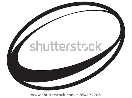 Rugby ball Stock photo © milsiart