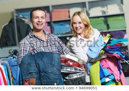 女性 ズボン ショッピング 服 ショップ ストックフォト © vlad_star
