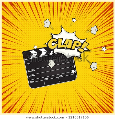 Tábla ikon pop art stílus dizájn elem poszter Stock fotó © masay256