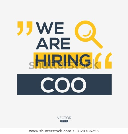 Chief Creative Officer Wanted. 3D. Stock photo © tashatuvango