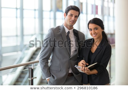 A contemporary business couple. Stock photo © IS2