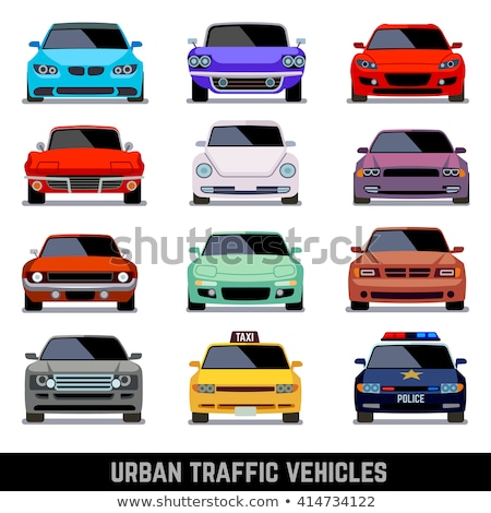 Headlight vector flat icon Stock photo © smoki