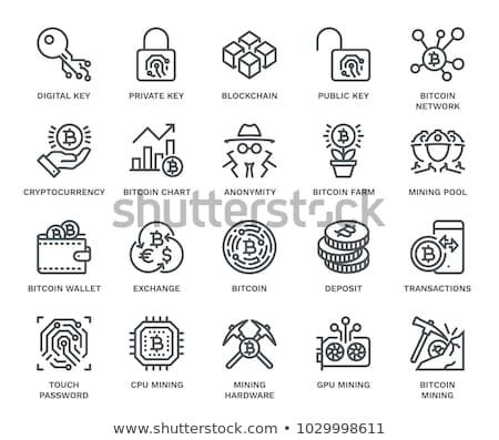 communie · vector · munt · illustratie · net · bancaire - stockfoto © wad