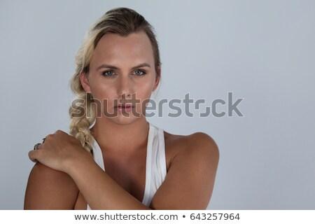 Portrait of confident transgender with braided hair Stock photo © wavebreak_media