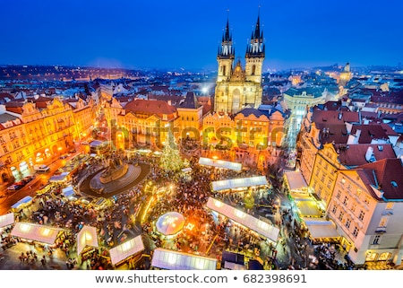 Christmas Prague  Stock photo © fyletto