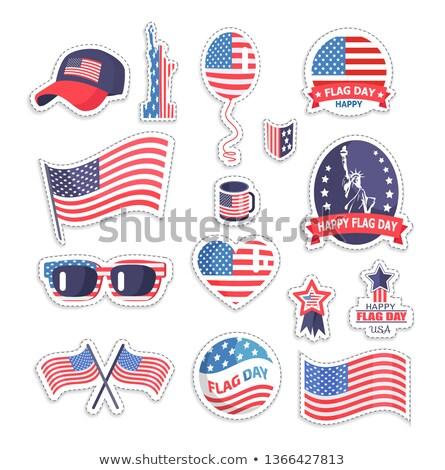 Vrijheid standbeeld zonnebril ballon USA symboliek Stockfoto © robuart