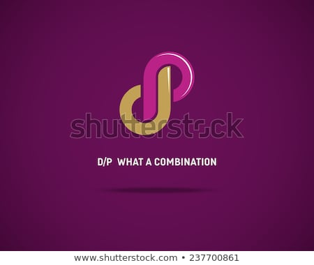 letter p and a logo combination Stock photo © blaskorizov