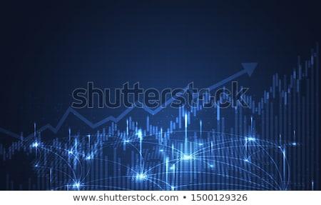 Grafik analiz iş toplantı işadamı takım Stok fotoğraf © Minervastock