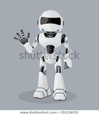 robot or droid cartoon character Stock photo © izakowski