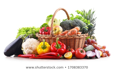 Sepet marul örnek gıda dizayn arka plan Stok fotoğraf © colematt