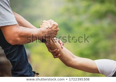 Személy remény egyéb közelkép személyek kéz Stock fotó © AndreyPopov