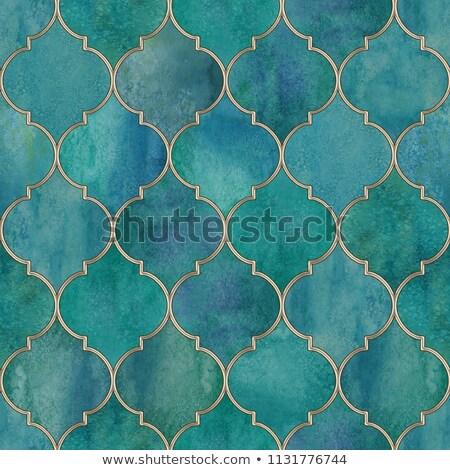 Sombre contour lignes carte art modèle Photo stock © SArts