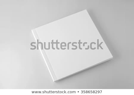 квадратный журнала 3d иллюстрации изолированный белый служба Сток-фото © montego