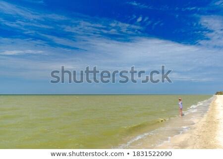 Pejzaż morski ciepło lata wakacje Zdjęcia stock © robuart