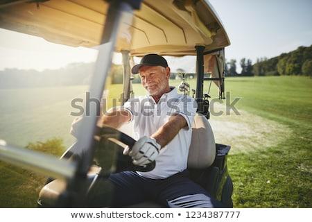 シニア ゴルファー アクティブ 男性 ゴルフ ストックフォト © lichtmeister