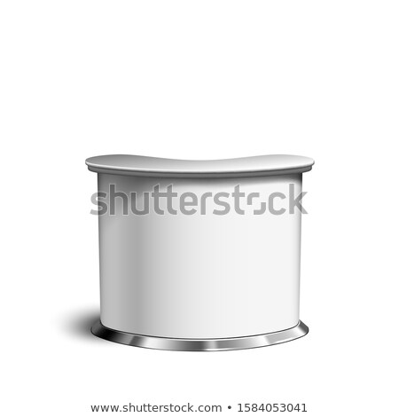 Counter Table, Blank Retail Trend Stand Vector Stock photo © pikepicture