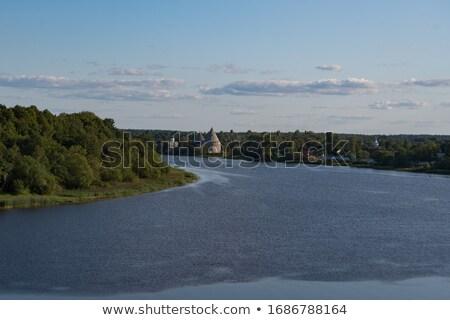 реке · Россия · мнение · природы · Церкви · синий - Сток-фото © borisb17