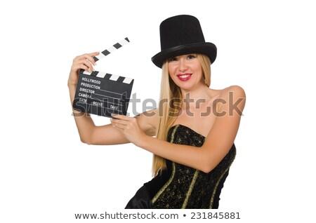 Genç kadın kunduz eller kadın kız bahar Stok fotoğraf © olira