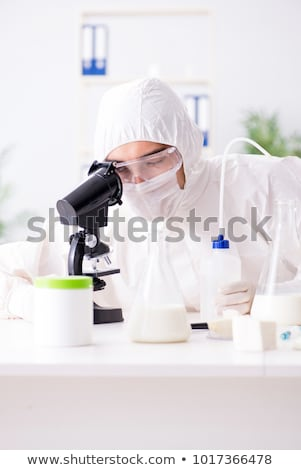 The food scientist testing new stuff in the lab Stock photo © Elnur