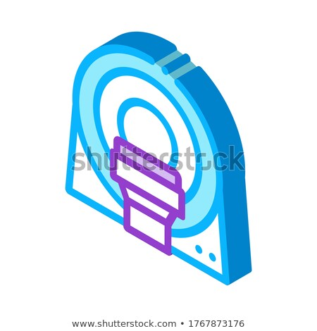 Mri Diagnosis Apparatus isometric icon vector illustration Stock photo © pikepicture