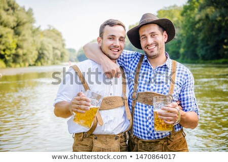 two bavarian girls looking stock photo © Rob_Stark