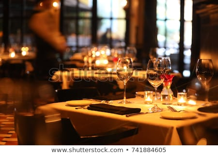 Fine Dining Stock photo © AlphaBaby