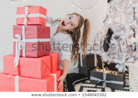 Stack Of Giftboxes As Presents For The Family And Friends Stock photo © stuartmiles