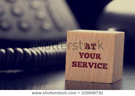 palavra · serviço · colorido - foto stock © kbfmedia