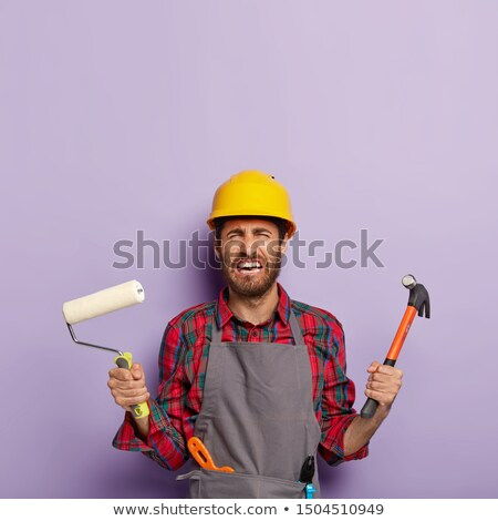 Builder panicking Stock photo © photography33