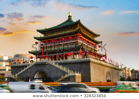 Bell Tower in Xian China Stock photo © bbbar