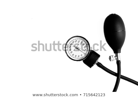 Closeup of medical sphygmomanometer isolated  Stock photo © Arsgera