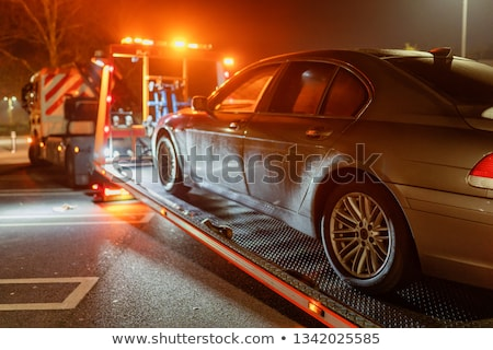 Man calling breakdown recovery Stock photo © photography33