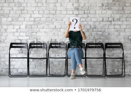 főnök · ülés · szék · irodai · szék · fekete · bőr - stock fotó © idesign