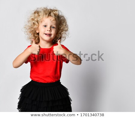 dancer showing both thumbs up Stock photo © feedough