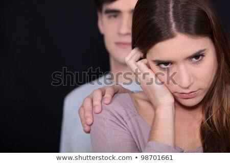 Young couple going through rough patch Stock photo © photography33