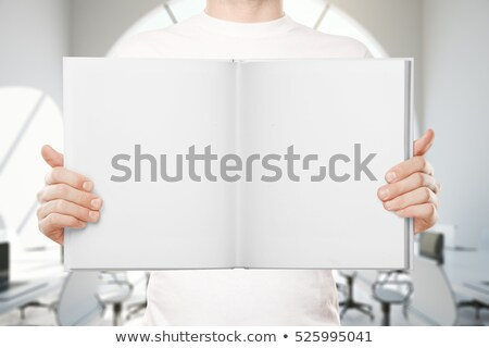 Businessman gripping empty copyspace Stock photo © photography33