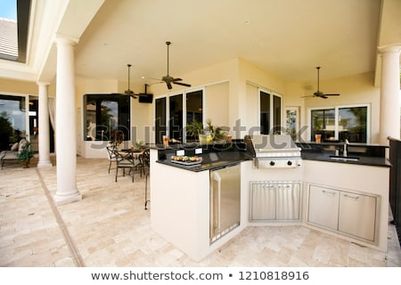Beach Front Mansion Stock photo © macropixel