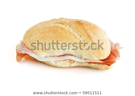 loaf with jam and speck Stock photo © Antonio-S