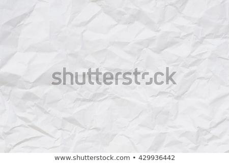 Kâğıt parça beyaz doku soyut Stok fotoğraf © winterling