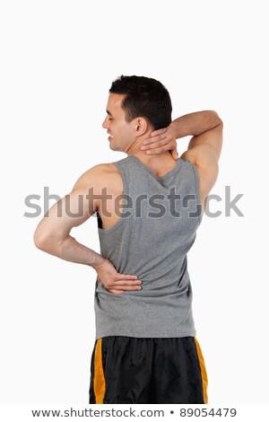 портрет спортивных человека белый медицина Сток-фото © wavebreak_media