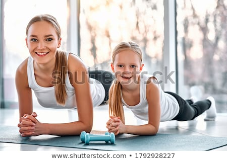 Mother and Daughter Together Stock photo © ozgur