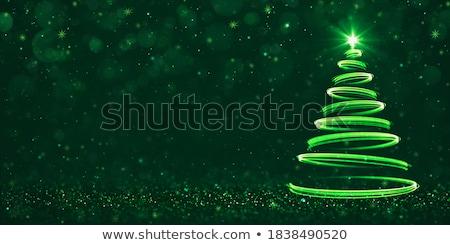temporadas · cartão · ouro · brilho · floco · de · neve - foto stock © shawlinmohd
