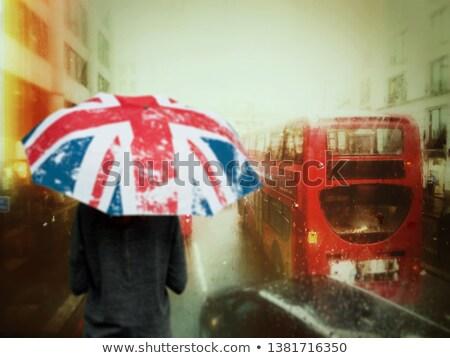 3d · személy · számlák · eső · reménytelenség · hírek · fehér - stock fotó © iqoncept