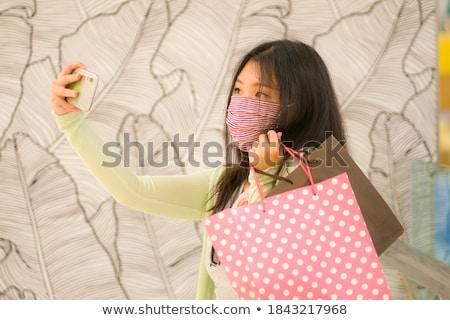 normal picture of attractive woman stock photo © konradbak