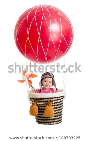 multicolore · palloncini · giocattolo · città · festività · panorama - foto d'archivio © ssuaphoto